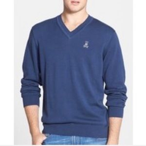 HP🎉 NWT Psycho Bunny Polo Lightweight Sweater Top